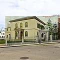 Touro Synagogue In Newport Rhode Island by Jeff Hayden