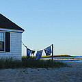 Towels On The Line by Beth Johnston