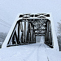 Train Bridge by Tracy Winter