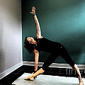 Triangle Pose by Sally Simon