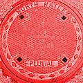 Tricolor Manhole by Matthew Naiden