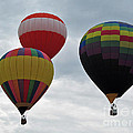 Trio Of Balloons  by Jamie  Smith
