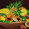 Tropical Fruits by James  Mingo