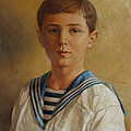 Tsarevich Alexei Of Russia by George Alexander