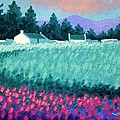 Turquoise Meadow by John  Nolan