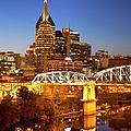 Twilight Over Nashville Tennessee by Brian Jannsen