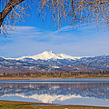 Twin Peaks Longs And Meeker Lake Reflection by James BO Insogna