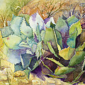 Two Fat Agaves - 140 Lb by Renee Chastant