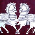 Two Horses by Asha Sudhaker Shenoy
