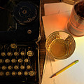 Typewriter And Whiskey by Jill Battaglia