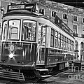 Typical Lisbon Tram In Commerce Square by Jose Elias - Sofia Pereira