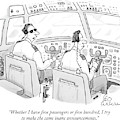 Whether I Have Five Passengers Or Five Hundred by Leo Cullum