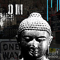 Urban Buddha  by Linda Woods