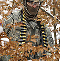 U.s. Army Soldier Conducts A Dismounted by Stocktrek Images