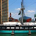Uss Constellation by Andy Lawless
