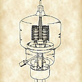 Vacuum Tube Patent 1942 - Vintage by Stephen Younts