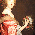 Van Dyck's Catherine Howard -- Lady D'aubigny by Cora Wandel