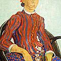 Van Gogh's La Mousme by Cora Wandel