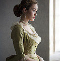 Victorian Woman At The Window by Lee Avison