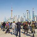 View Of Pudong In Shanghai China by Jacek Malipan