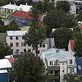 View Of Reykjavik Iceland by Ronald Jansen