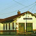 Villisca Train Depot by Edward Peterson