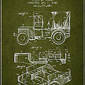 Vintage Military Vehicle Patent From 1942 by Aged Pixel
