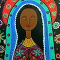 Virgin Guadalupe by Pristine Cartera Turkus