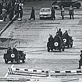 Volkspolice Tried To Hinder The American Traffic In Berlin by Retro Images Archive