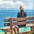 Sitting Alone by Roy Pedersen