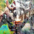 Wall Street Bull  by Marvin Blaine