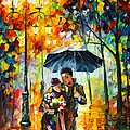 Warm Night by Leonid Afremov