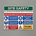 Warning Sign by Tom Gowanlock