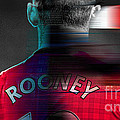 Wayne Rooney by Marvin Blaine