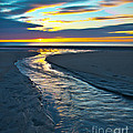 Wells Beach Maine Sunrise by Glenn Gordon