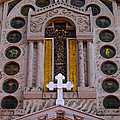 White Cross At St Sophia by Ed Gleichman
