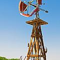 Wind Mills In West Texas by Millard H. Sharp