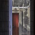 Windows Of El Morro by Mary Lou Chmura