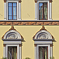 Windows Of Tuscany by David Letts