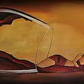 Wine-spilled Woman by Preethi Mathialagan