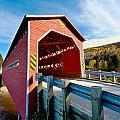Wooden Covered Bridge  by U Schade