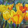 Yellow Tulips by Barbara Haviland