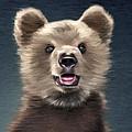 Young Brown Bear by Aleksey Tugolukov
