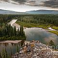 Yukon Canada Taiga Wilderness And Mcquesten River by Stephan Pietzko