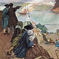 Battle Of Bunker Hill, 1775 by Granger