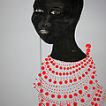 Dinka Bride - South Sudan by Gloria Ssali