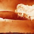 Hindenburg Disaster by Us Navy