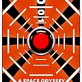 2001 A Space Odyssey Personal Movie Poster by Helge