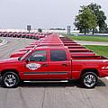 2004 Brickyard 400 Silverado Drive-away Vehicles by Howard Kirchenbauer