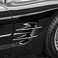 2002 Corvette Ls1 5 7ltr B W by Rich Franco